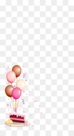 Birthday Cake, Birthday, Greeting Note Cards, Balloon, Computer Wallpaper PNG image with transparent background