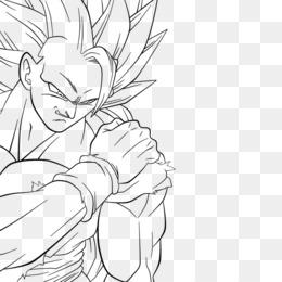 Wonderful Goku Vegeta Majin Buu Dragon Ball Heroes Line Art   Dragon Ball Super Png  Download   894*894   Free Transparent Symmetry Png Download.