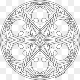 Drawing Mandala Coloring Book