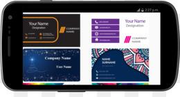 Application Rapport De Android Carte Visite Cartes