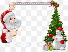 Santa Claus, Borders And Frames, Christmas, Fir, Christmas Ornament PNG image with transparent background