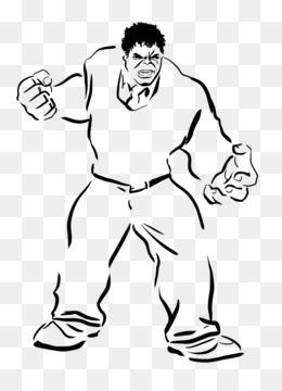 Hulk Clint Barton Thunderbolt Ross Coloring Book Superhero Hulk