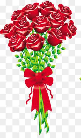free download flower bouquet rose cut flowers clip art blush rh kisspng com bouquet of roses clipart bouquet of flowers clip art free
