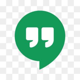 Google Hangouts PNG - Google Hangouts Stickers, Google Hangouts Icon