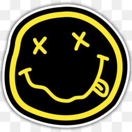 Nirvana Smiley Desktop Wallpaper Logo Grunge