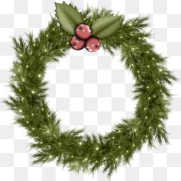 Free Download Christmas Wreath Garland Clip Art Christmas Garland Png