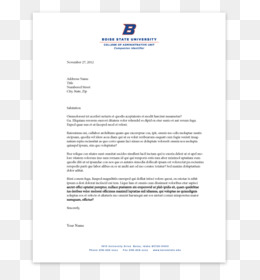 free download letterhead business letter paper boise state