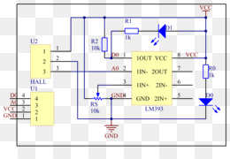 wiring diagram schematic hall effect sensor circuit diagram passive rh kisspng com