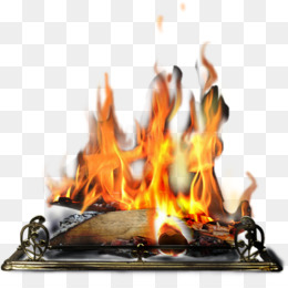 Fire, Fireplace, Bonfire, Heat PNG image with transparent background