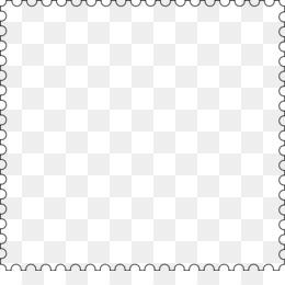 Stamp Border PNG