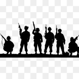 Veteran Salute Soldier Silhouette Cli...