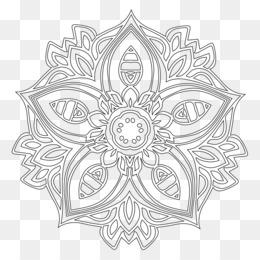 Mandala Coloring Book Meditation Child Adult