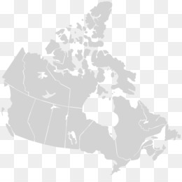 Canada United States Vector Map - Canada png download - 1084 ...