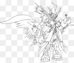 Angemon drawing — 2