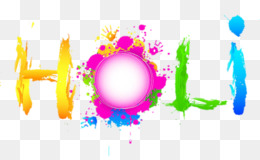 Holi, Editing, Picsart Photo Studio, Text, Sky PNG image with transparent background