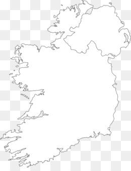 Blank Map Of Ireland.Northern Ireland Blank Map Historical Maps Of Ireland Map 1372