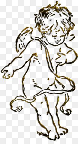 Cupido PNG transparente y Cupido dibujo - Libro para colorear ...