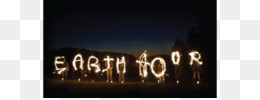 Earth, Earth Hour 2018, Earth Hour 2016, Darkness, Text PNG image with transparent background