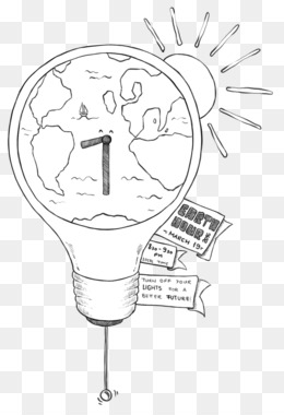 Earth Hour 2016, Earth, Energy Conservation, Line Art, Head PNG image with transparent background