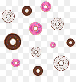 Donut PNG Transparent Clipart Free Download