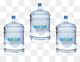 Bottled Water, Water Bottles, Water, Solvent, Liquid PNG image with transparent background