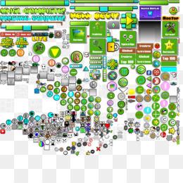 Free download Geometry Dash Map png