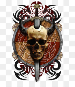 Viking Skull Png Viking Skull Vector Viking Skull With Beard