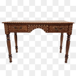 Table Inlay Queen Anne Style Furniture Couch Desk   Table