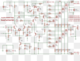 Free download MOSFET Power amplifier classes Circuit diagram