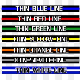 the thin white line