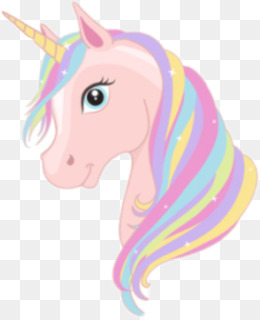 Unicorn, Royaltyfree, Art, Pink, Head PNG image with transparent background