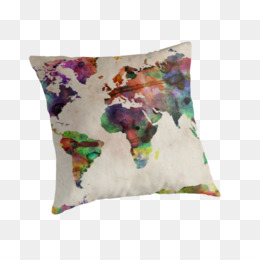 World map watercolor painting allposters beautiful watercolor png gumiabroncs Image collections