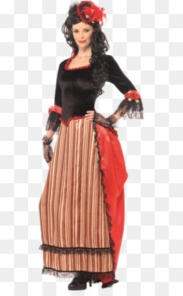 06508f95e01 American frontier Costume party Woman Cowboy - woman. Download Similars. American  frontier Halloween costume Cowboy Western saloon - dress