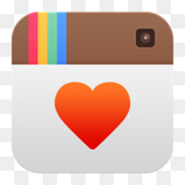 Instagram, Android, Social Media, Orange, Heart PNG image with transparent background