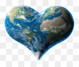 Earth, Stock Photography, Heart, Planet PNG image with transparent background