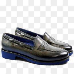 Slip-on shoe Slipper Blue Leather - others. Download Similars. Ballet flat  Slip-on shoe Shoe Shop Suede - sandal e938f6fdb