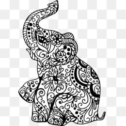 Download Gratis Henna Mehndi Gajah India Gajah Png