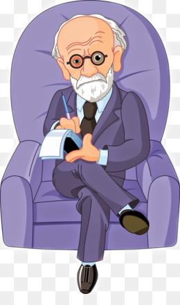 Psychotherapist Cartoon Psychologist Illustration Mental Health