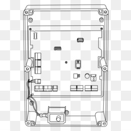 wiring diagram, electromagnetic lock, diagram, rectangle, line art png  image with transparent