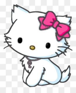 Hello Kitty Cat Kitten Coloring Book Drawing Cat Png Download