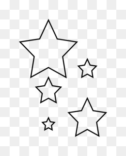 free download star stencil template clip art star png
