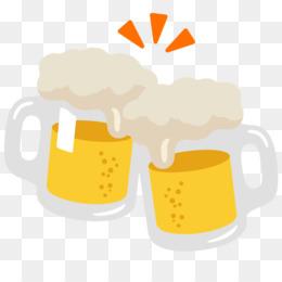 Beer Emoji PNG and Beer Emoji Transparent Clipart Free Download
