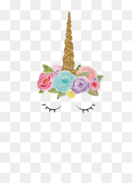 Unicorn, Fairy Tale, Party, Pink, Petal PNG image with transparent background