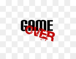 Game Over PNG Transparent Clipart Free Download