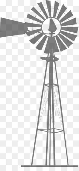 free download wind farm windmill silhouette wind turbine windmill png