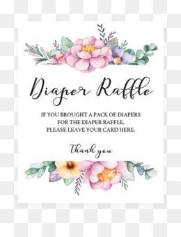 free download diaper cake wedding invitation baby shower raffle