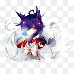 Free download Ahri Nine-tailed fox League of Legends Art