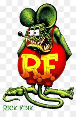 new! 1960s Ed Roth/'s RAT FINK RF cartoon character replica magnet
