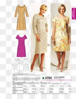 Free Download Dress Sewing Dart Clothing Sizes Pattern Dress
