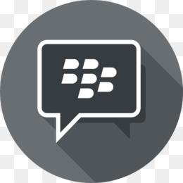 Blackberry Messenger Blue png download - 512*512 - Free
